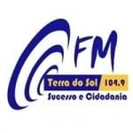 Logo da emissora Rádio Terra do Sol 104.9 FM
