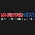 Logo da emissora Radio KXKW Mustang 87.7 FM