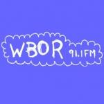 Logo da emissora Radio WBOR 91.1 FM