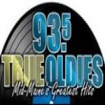 Logo da emissora Radio WCTB True Oldies 93.5 FM