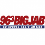 Logo da emissora Radio WJJB The Big Jab 96.3 FM