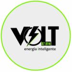 Logo da emissora Rádio Volt 87.9 FM