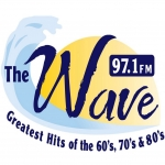 Logo da emissora Radio WAVD The Wave 97.1 FM