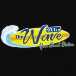 Logo da emissora Radio WAVD The Wave 97.1 FM