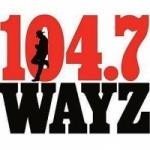 Logo da emissora Radio WAYZ FM 104.7