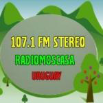 Logo da emissora Radio Moscasa Stereo 107.1 FM