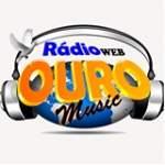 Logo da emissora Rádio Ouro Music