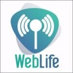 Logo da emissora Rádio Web Life