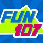 Logo da emissora Radio WFHN Fun 107.1 FM