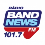 Logo da emissora Rádio Tribuna BandNews 101.7 FM