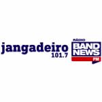 Logo da emissora Rádio Jangadeiro BandNews 101.7 FM