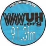 Logo da emissora Radio WWUH 91.3 FM