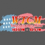 Logo da emissora WTCM 103.5 FM