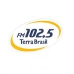 Logo da emissora Rádio Terra Brasil 100.5 FM