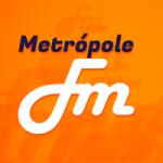 Logo da emissora Rádio Metrópole 105.9 FM