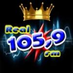 Logo da emissora Rádio Real 105.9 FM