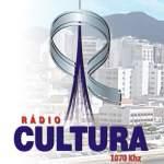 Logo da emissora Rádio Cultura 1070 AM