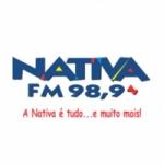 Logo da emissora Rádio Nativa 98.9 FM