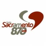 Logo da emissora Rádio Sacramento 870 AM