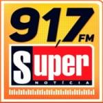 Logo da emissora Rádio Super Notícia FM 91.7 FM
