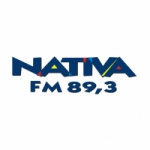 Logo da emissora Rádio Nativa 89.3 FM