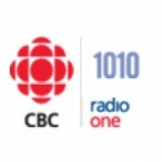 Logo da emissora CBC Radio One 1010 AM