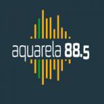 Logo da emissora Radio Aquarela 88.5 FM