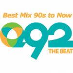 Logo da emissora Radio KKGQ Q92 The Beat 92.3 FM