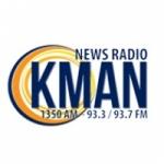 Logo da emissora Radio KMAN 1350 AM