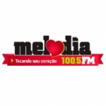 Logo da emissora Rádio Melodia 100.5 FM