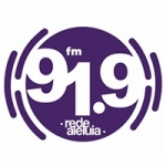 Logo da emissora Rádio Rede Aleluia 91.9 FM