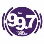 Logo da emissora Rádio Rede Aleluia 99.7 FM