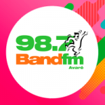 Logo da emissora Rádio Band 98.7 FM