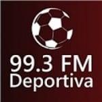 Logo da emissora Radio Deportiva 99.3 FM