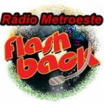 Logo da emissora Rádio Metroeste Flash Back