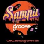 Logo da emissora Rádio Sampa Groove