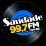 Logo da emissora Rádio Saudade 99.7 FM