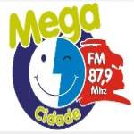 Logo da emissora Radio Mega Cidade 87.9 FM