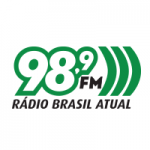 Logo da emissora Radio Brasil Atual 98.9 FM