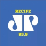 Logo da emissora Radio Jovempan 95.9 FM