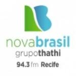 Logo da emissora Rádio Nova Brasil 94.3 FM