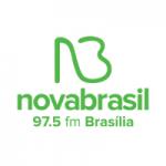 Logo da emissora Radio Nova Brasil FM 97.5