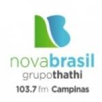 Logo da emissora Rádio Nova Brasil FM 103.7