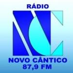 Logo da emissora Rádio Novo Cântico 87.9 FM