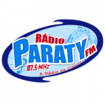 Logo da emissora Radio Paraty 87.5 FM