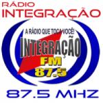 Logo da emissora Radio Integração 87.5 FM