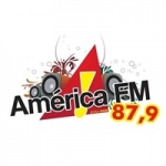 Logo da emissora Radio América 87.5 FM