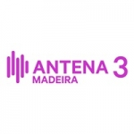 Logo da emissora Rádio Antena 3 Madeira 89.8 FM