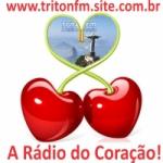 Logo da emissora Rádio Triton FM