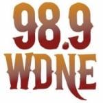 Logo da emissora WDNE 98.9 FM